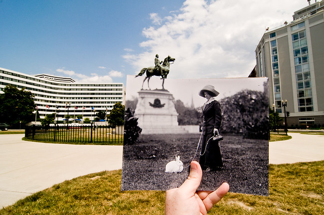 Looking Into the Past: Thomas Circle, Washington, DC