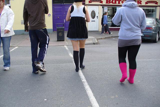 walking in socks a gallery on flickr