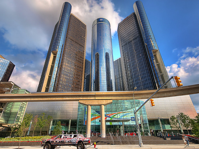 Renaissance Center (GM building)