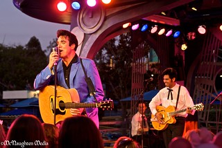 Scot Bruce as Elvis at Disneyland