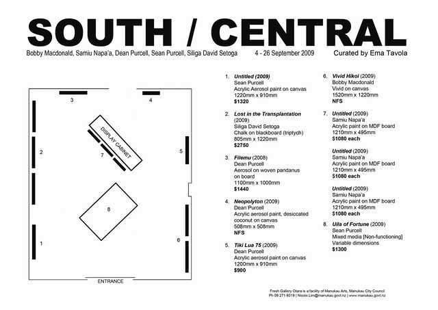 South / Central floorplan