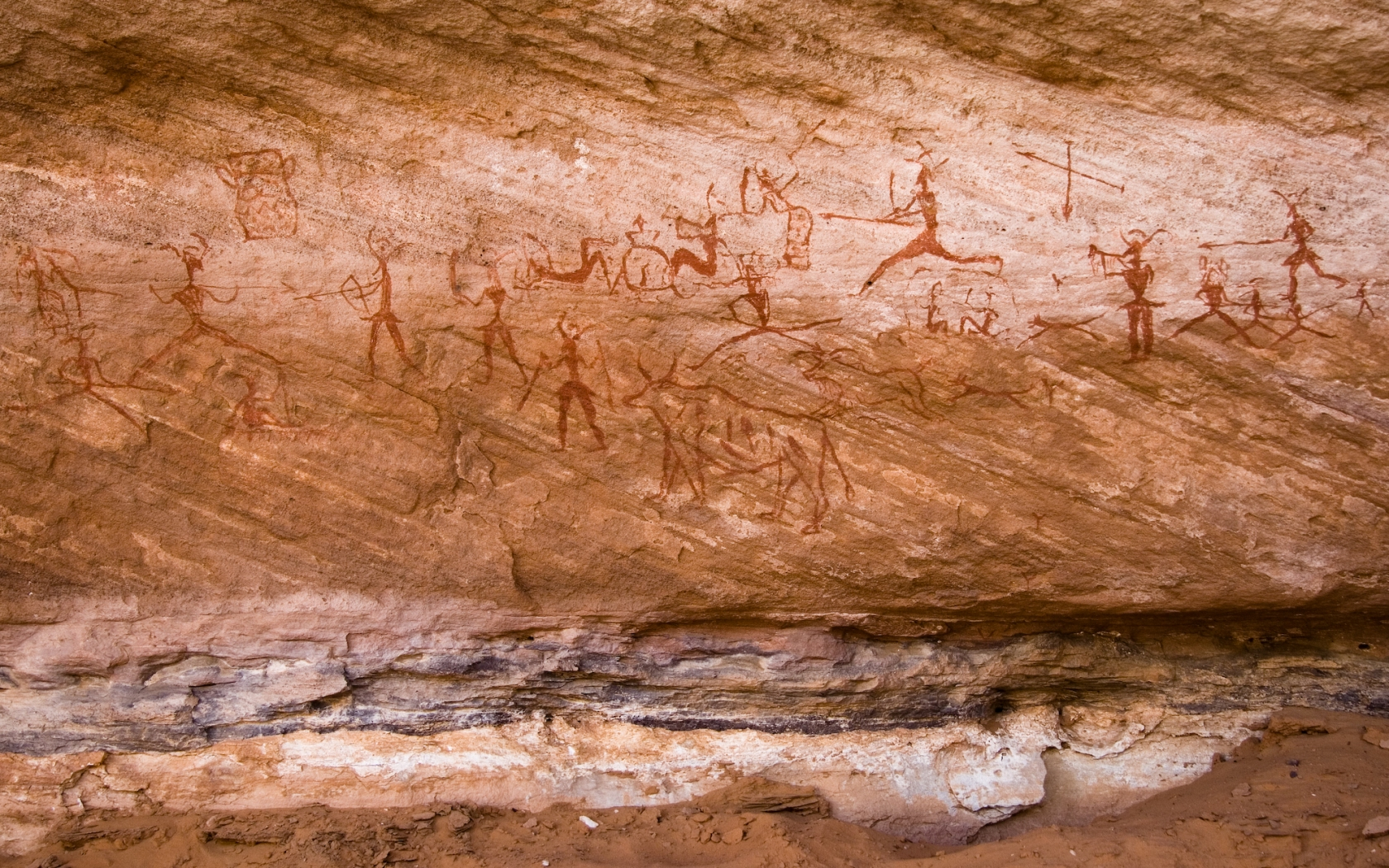 Rock art sites of Tadrart Acacus Libya