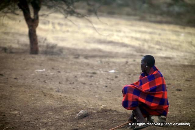 Maasai Man - Tanzania