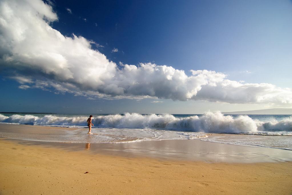 Big Beach гавайи фото