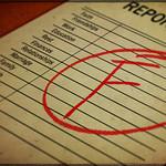 Report Card FAIL