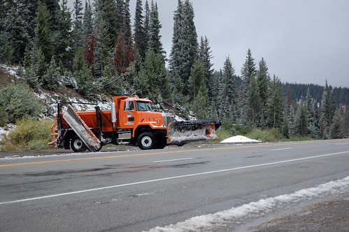 094 Colorado - snow plow US40