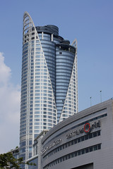 Central World and some hotel tower in Bangkok