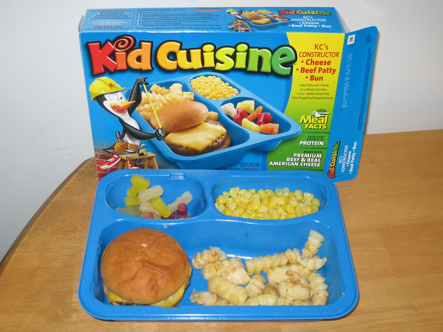 Kid cuisine kc 39 s constructor cheeseburger flickr photo for Are kid cuisine meals healthy