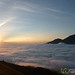 Sunrise Above Clouds - Mt. Batur, Bali