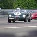 1952 Jaguar C Type and a 1965 Alfa Romeo TZ11 ©Dave Hamster