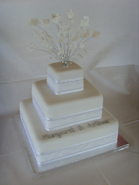 Cake Designs For Diamond Wedding : Diamond Wedding Anniversary Cake Flickr - Photo Sharing!