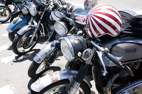 Venice Vintage Motorcycle Rally July 09 by Transmission77