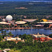EPCOT from Helicopter