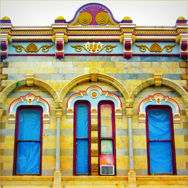 Colorful 1884 Facade
