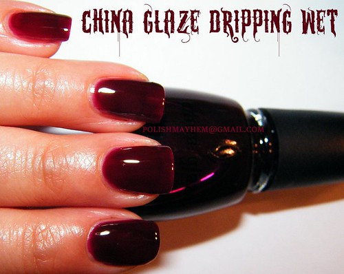 China Glaze Dripping Wet