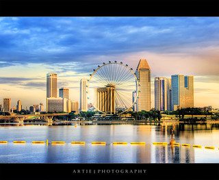 The Singapore Flyer :: HDR