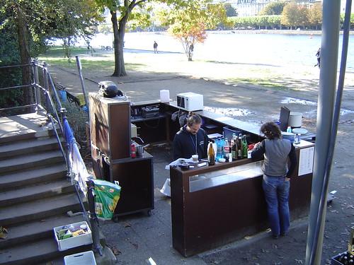 Main Café Abbau im Oktober 2003 -- main_cafe0265