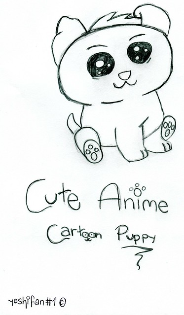 Cute Anime Puppy