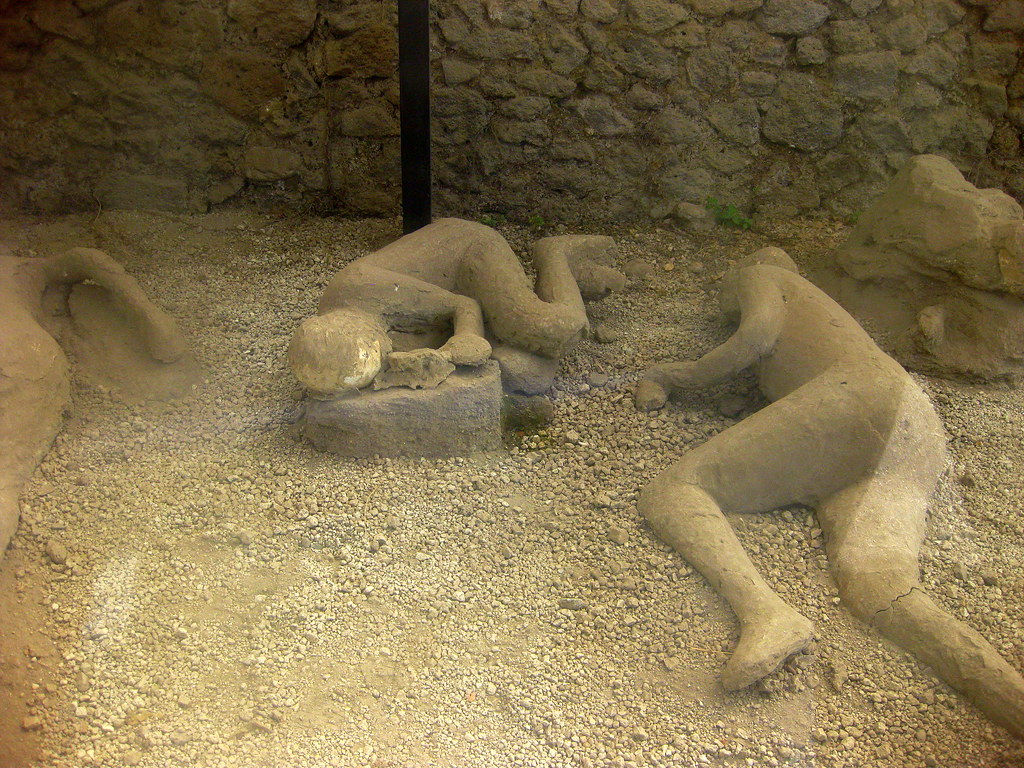 Pompeii Petrified Bodies
