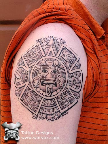 Inca tattoos for Peruvian tattoos designs