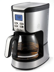 espresso(0.0), drip coffee maker(1.0), coffeemaker(1.0), kettle(1.0), coffee(1.0), drink(1.0), espresso machine(1.0), small appliance(1.0),