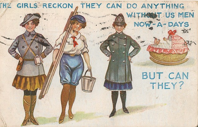 Girls Reckon They Can Do Anything Without Us Men Now-A -9275