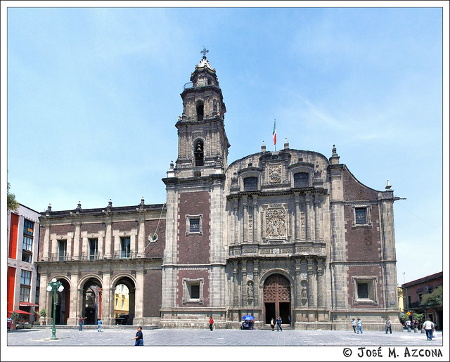 México DF. Iglesia de Santo Domingo.