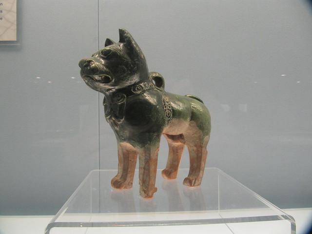 Large Ceramic Dog Food Container