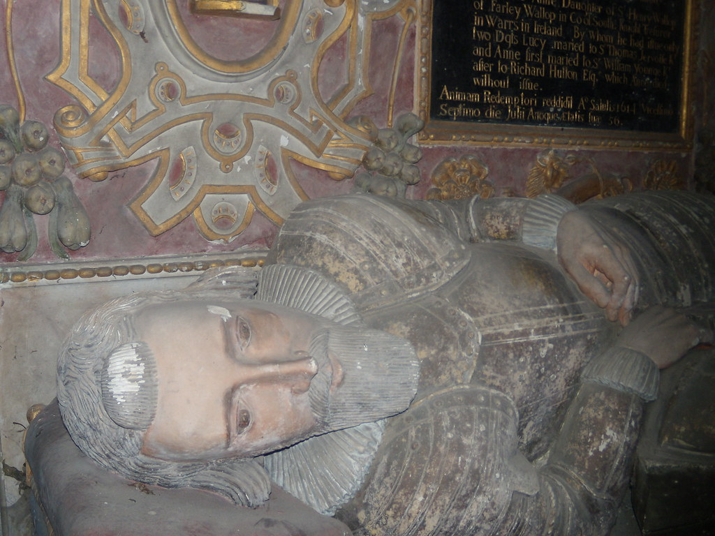 Sir Richard Powlett I had him down as a Wallop, but the walk notes suggest otherwise. St Nicholas, Freefolk. Overton to Whitchurch