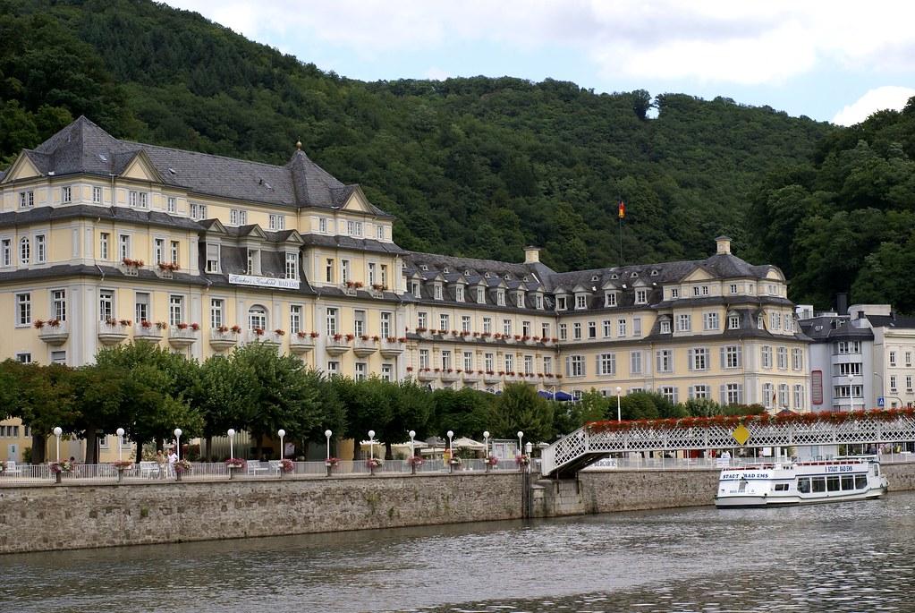 Bad Ems, Kurhaus und Kurhotel (Spa House and Spa Hotel)