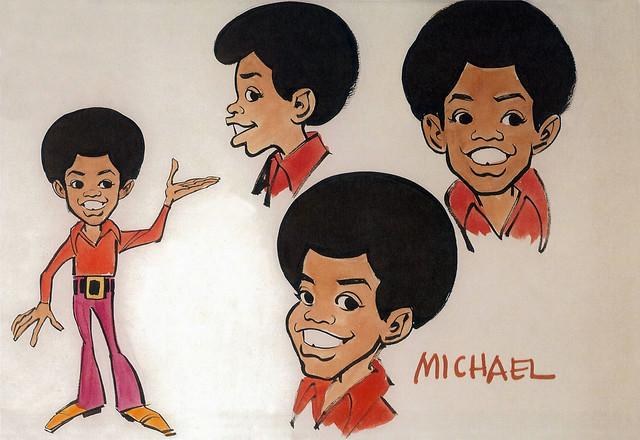 Michael Jackson Model Sheet