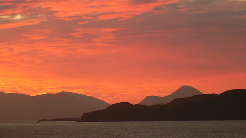 Sunrise, Sound of Mull