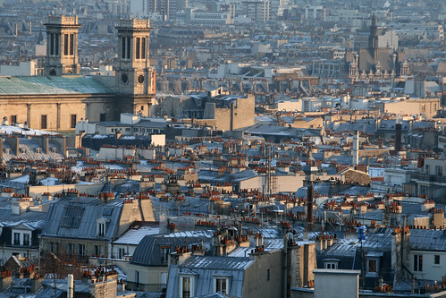 "Paris from ""La Butte"""