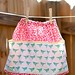 big pocket apron skirt for girls