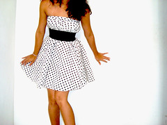 day dress, clothing, cocktail dress, polka dot, fashion, dress,