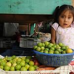 Honduran Girl Selling Limes - La Esperanza, Honduras