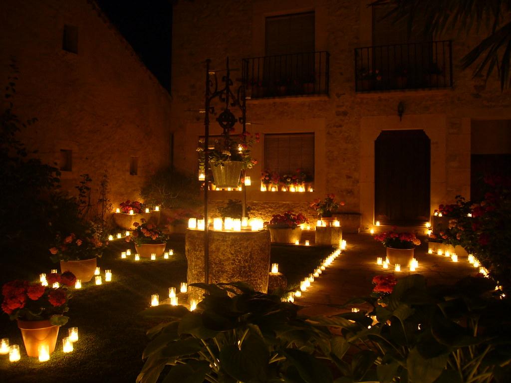 Fista de las velas de Pedraza-Segovia