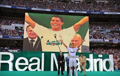 Presentacion Cristiano Ronaldo Real Madrid