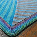 mitered corner - the Baby Shane Blanket