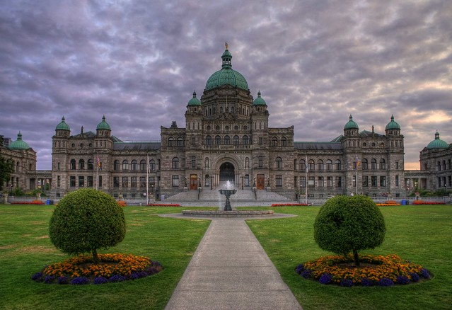 The British Columbia Legislature or Parliament Buildings (HDR)