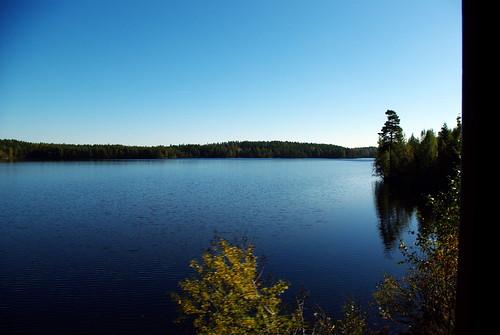 railroad sky tree water museum train pentax sweden dalsland åmål k200d jååj