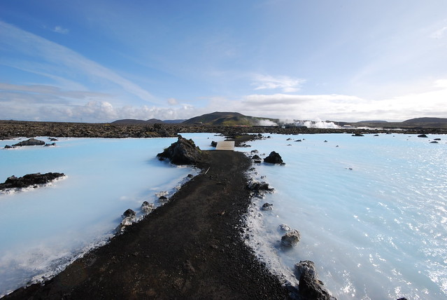 Path through Blue Lagoon
