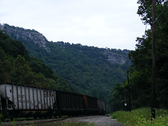 Train & Tracks in the Narrows 2