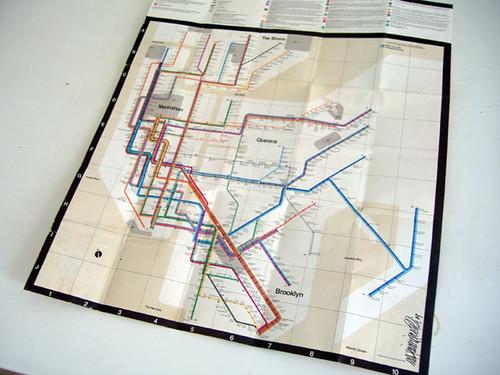New York Subway Map Vignelli.New York Subway Map 1972 Massimo Vignelli Original New Flickr