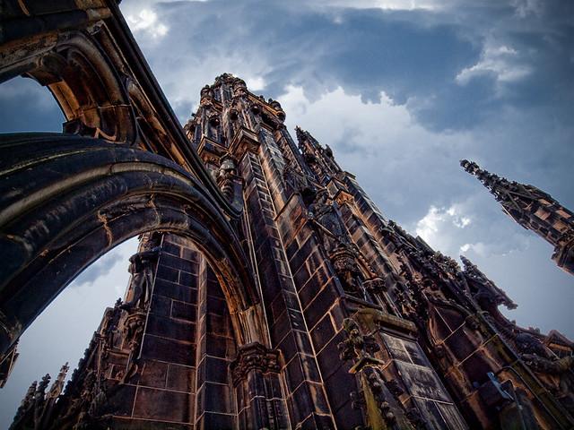 Edinburgh's Scott Monument AKA the Gothic Rocket