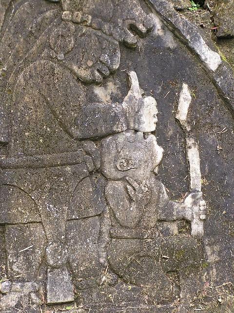 Mayan stone carving flickr photo sharing