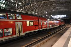 Deutsche Bahn Regional Train at Berlin Hauptbahnhof