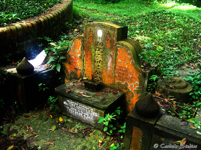 Bukit Brown - Tomb of Lee Hoon Leong 01