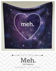 :North Moon: Meh! Wall Tapestry ad