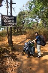 Obładowani bagażem dotarliśmy do Kamaxi Beach Resort